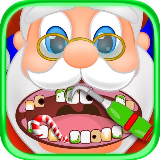 Christmas Dentist Office Santa & Snowman Kids Game