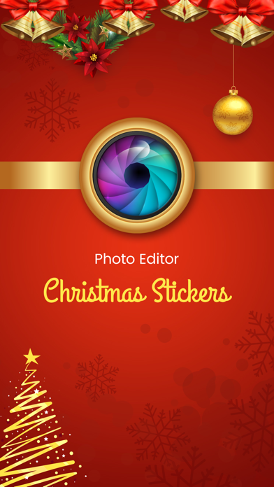 Christmas Stickers - FREE Photo Editor screenshot two