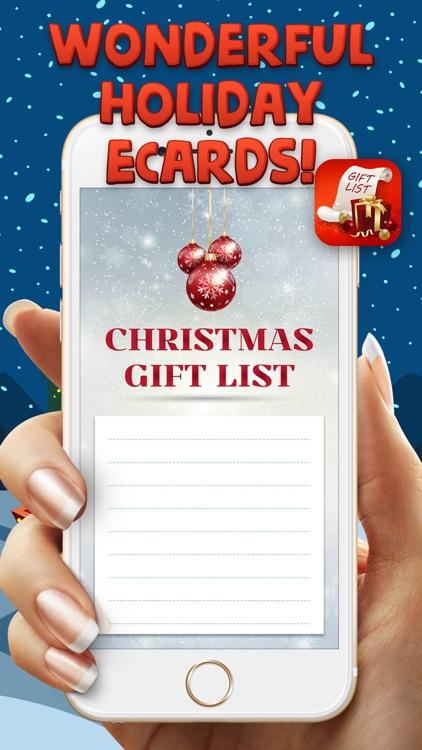Xmas Gift List screenshot-3