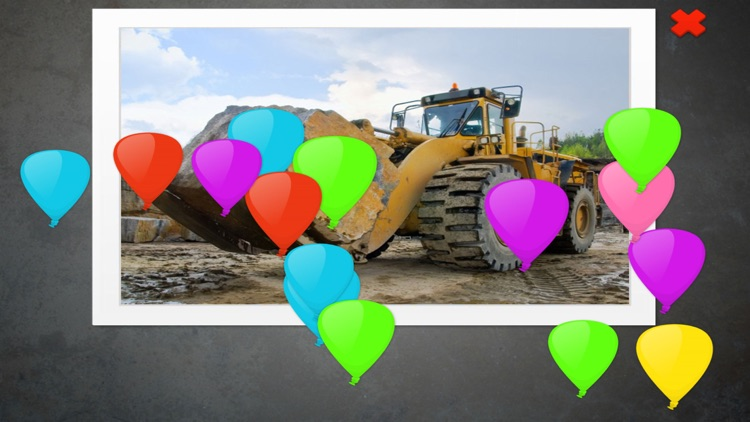 Big Trucks and Construction Vehicles JigSaw Puzzle screenshot-4