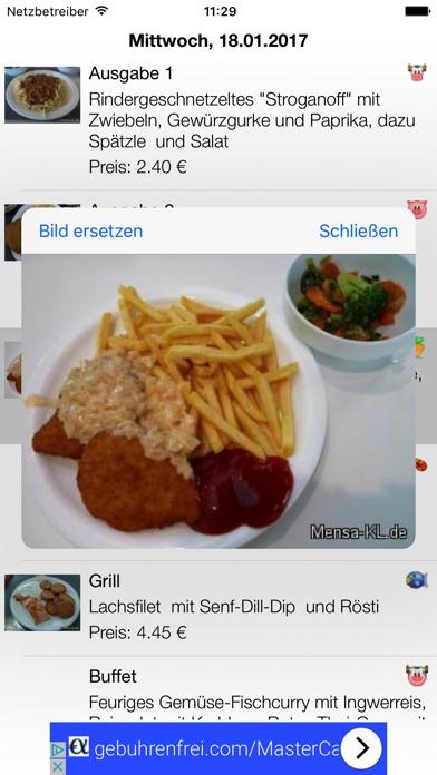 Mensa-KLScreenshot von 2