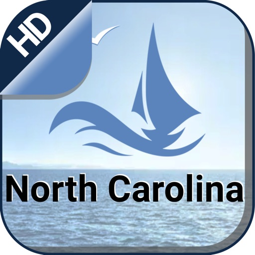 North Carolina offline nautical sailing charts