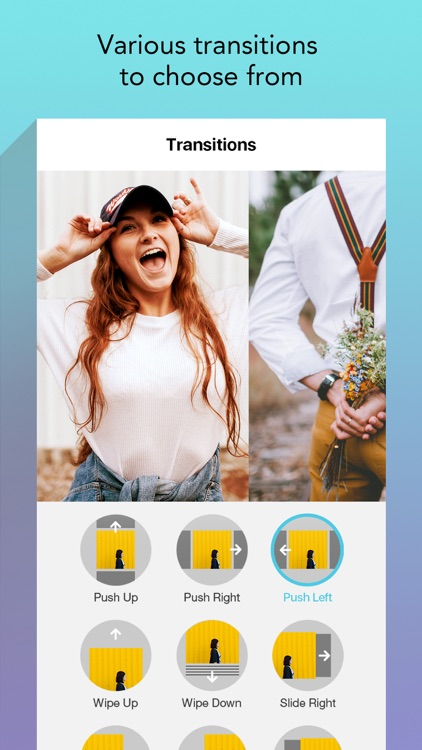 Slide Maker - Add Music to Photos & Make Slideshow screenshot-3