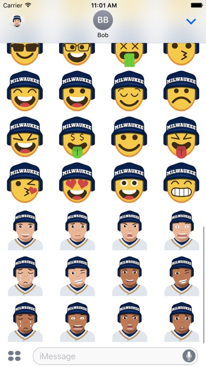 Milwaukee Baseball Stickers & Emojis screenshot-4
