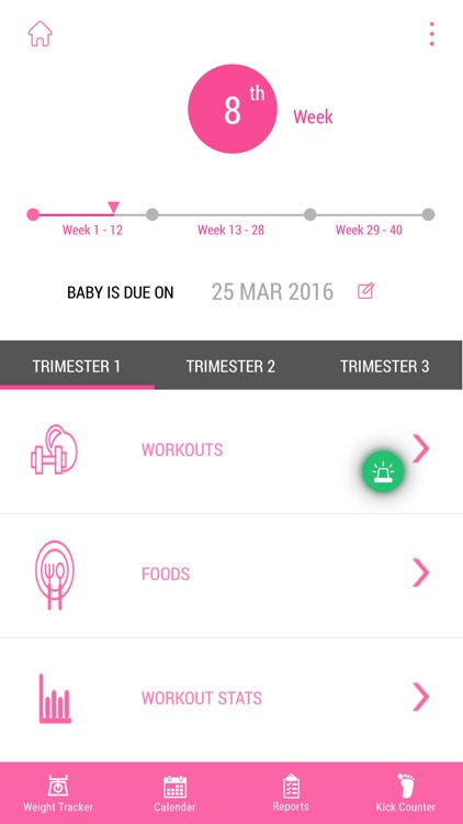 Pregnancy Workout Advisor