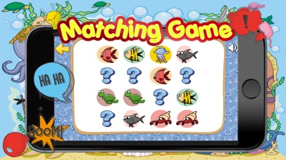 Sea Animals Matching-Education Learning Matching screenshot four