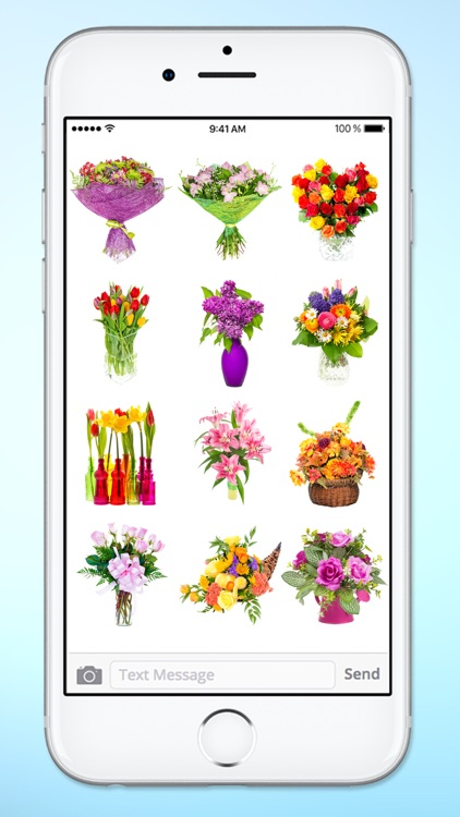 Send Flower Bouquets Sticker Pack screenshot-4