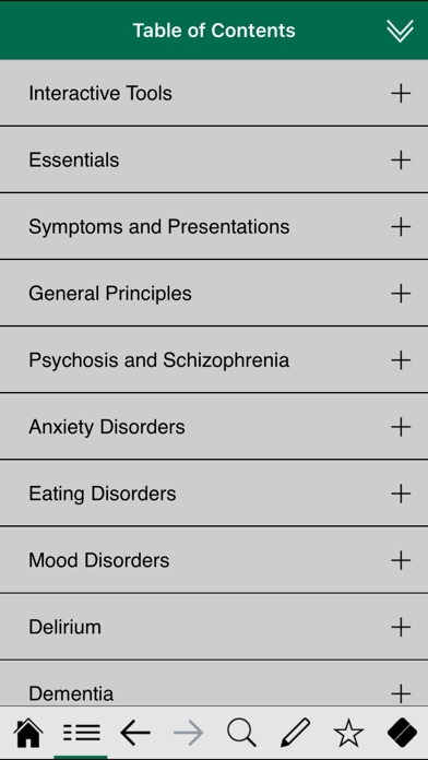 Psychiatry Pocket review screenshots