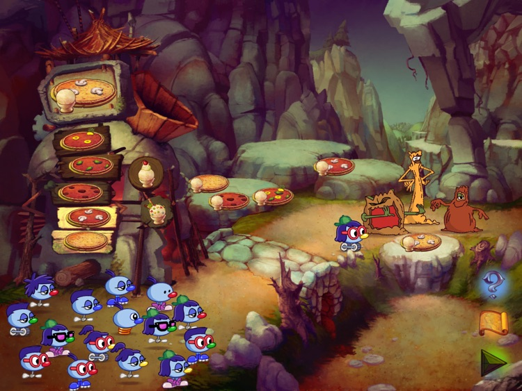 Zoombinis screenshot-1