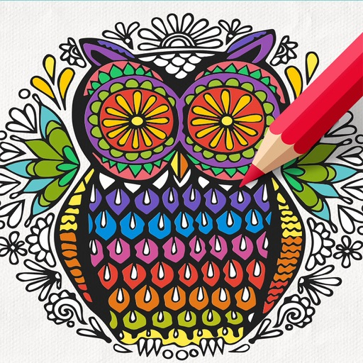 Recolor Coloring Book Pigment For Adults By Ponlawat Talpa