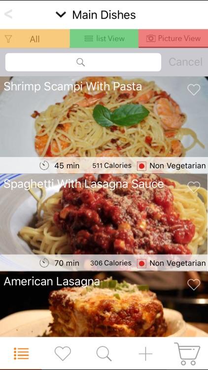 150 Italian Recipes screenshot-4