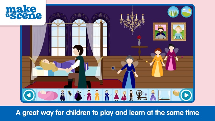 Make a Scene: Princess Fairy Tales (Pocket) screenshot-3
