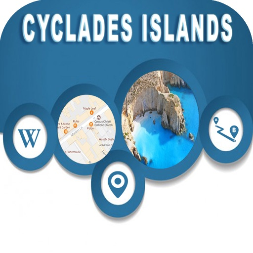 Cyclades Islands Greece Offline Maps Navigation