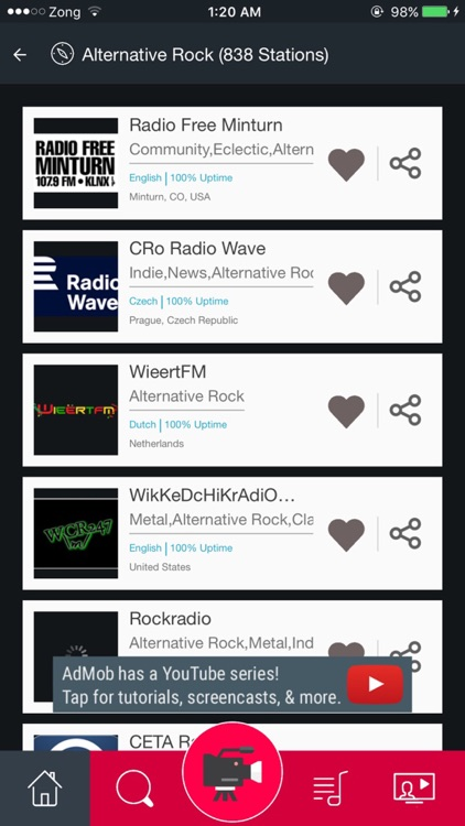 Alternative Rock Music Radio