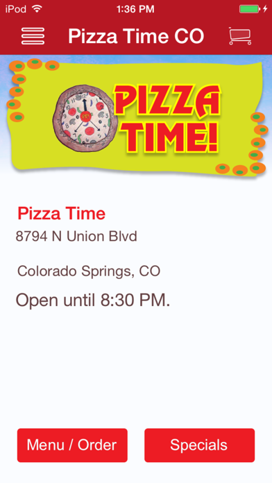 Pizza Time! screenshot one