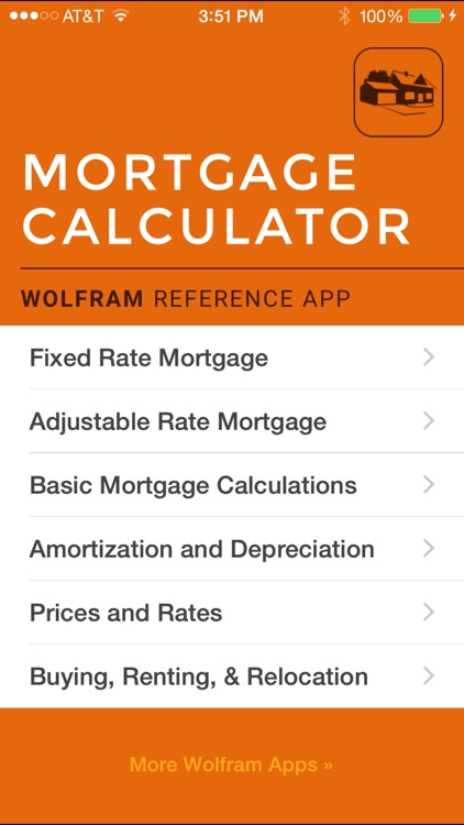 Wolfram Mortgage Calculator Reference App screenshot-0
