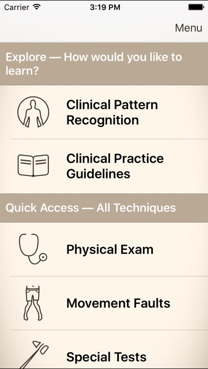 Clinical Pattern Recognition: Hip and Thigh Pain screenshot-0