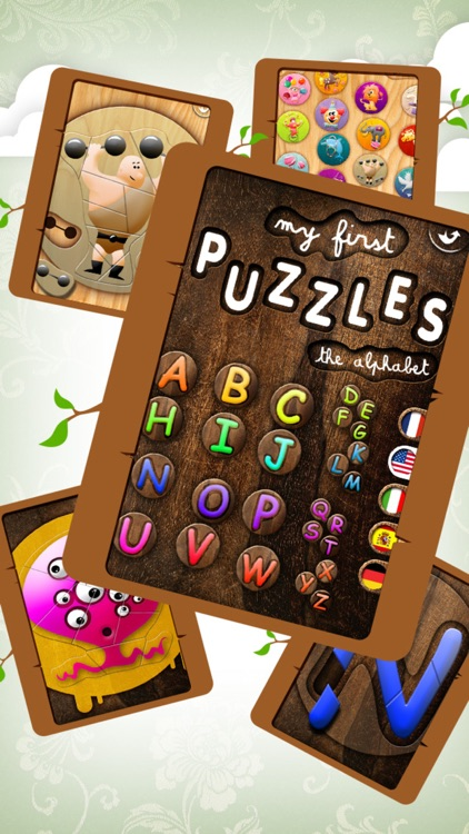 Educational Wooden Puzzle Collection screenshot-4