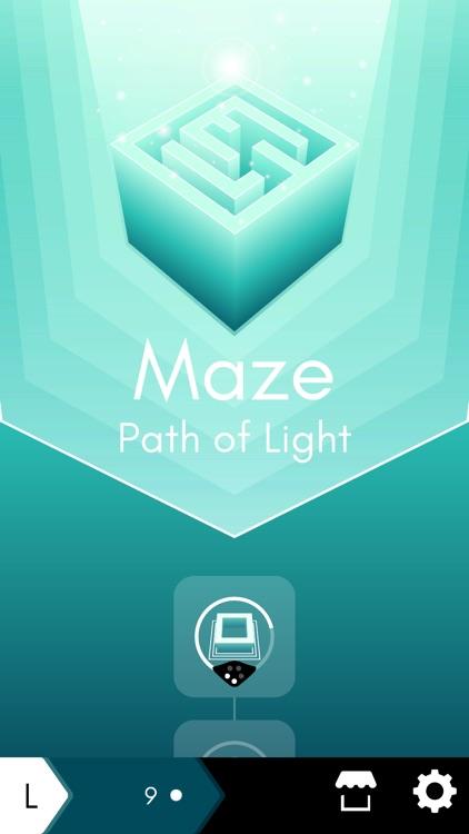 Maze: path of light screenshot-0