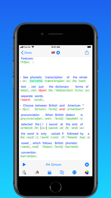toPhonetics Converter Screenshots