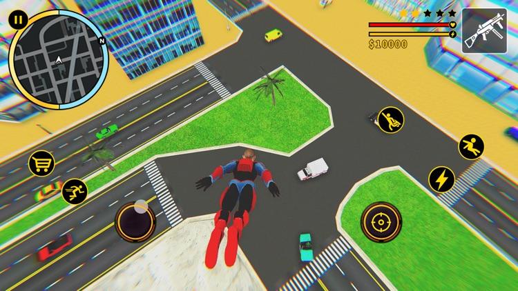 Grand Spider Hero City Battle screenshot-4
