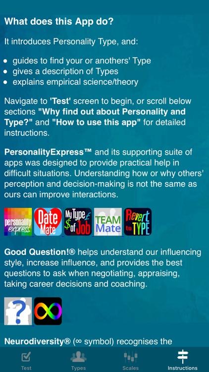 Personality Express screenshot-7