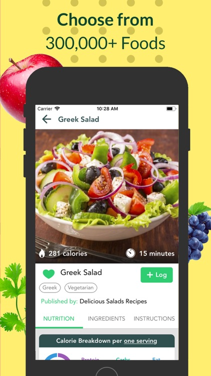 Food Tracker & Keto - Freshbit screenshot-3