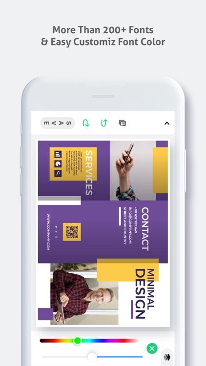 Brochure Maker - Pamphlet screenshot-3