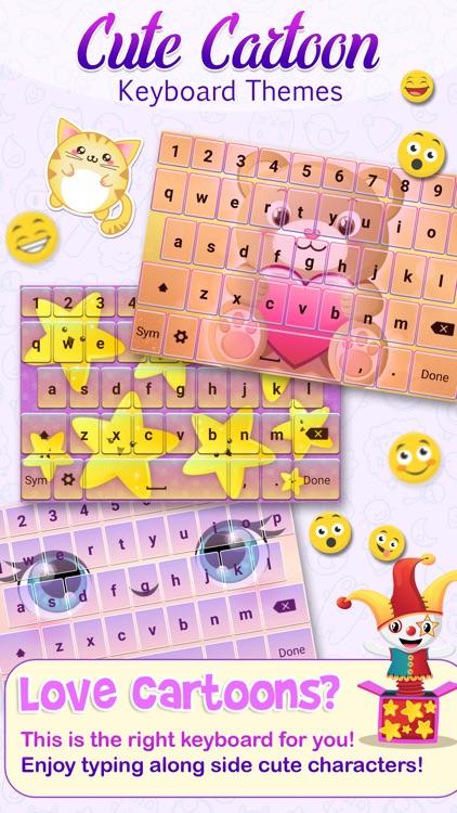 Cute Cartoon Keyboard Themes