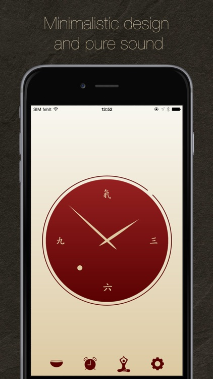i-Qi clock & meditation timer screenshot-0