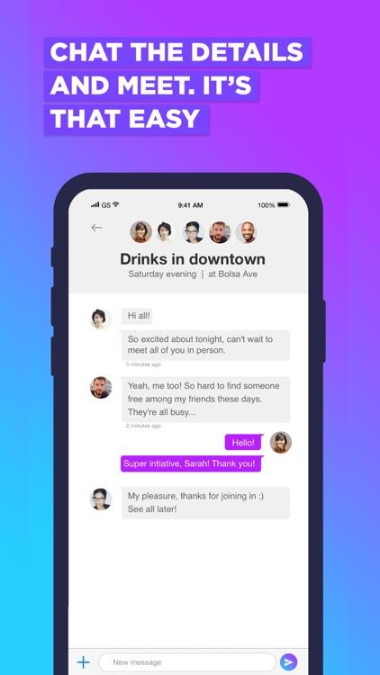 Jumppi:Join Fun Group Hangouts screenshot-4