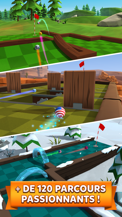 Golf Battle: Jeu Multijoueur
