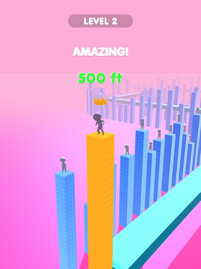 Block Stack 3D, game for IOS