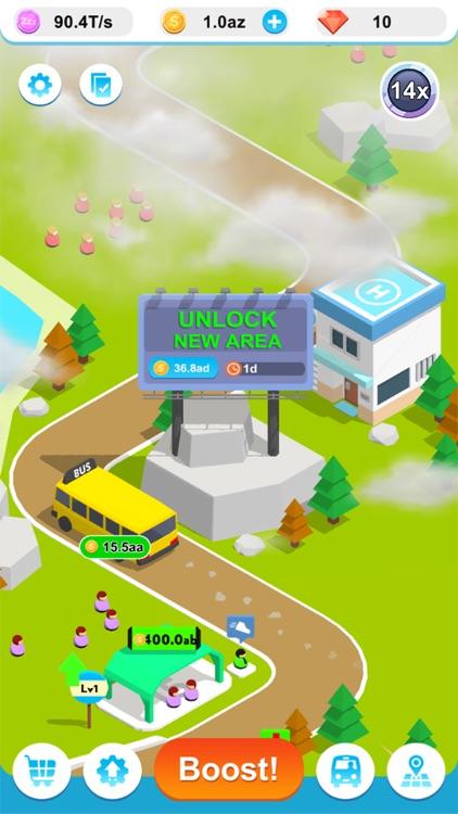 Idle Bus 3D ! screenshot-4