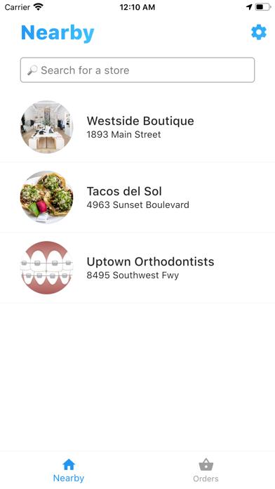 Wayt – Curbside Pickup Screenshot