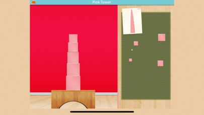 Pink Tower - Montessori Math screenshot 4