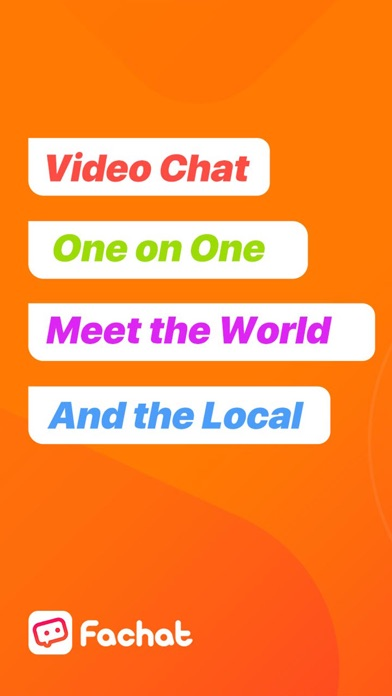 Fachat: Online Video Chat Screenshot