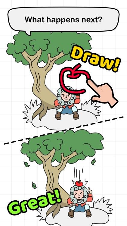 Brain Draw - Draw one part