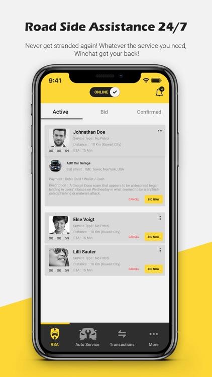 Winchat Service Provider