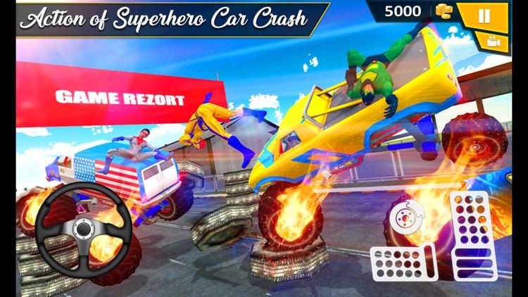 Ramp Rollover: Car Crash Derby screenshot-3