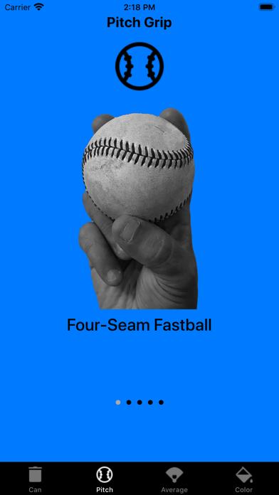 Screenshot of Baseball Pitch Alert App