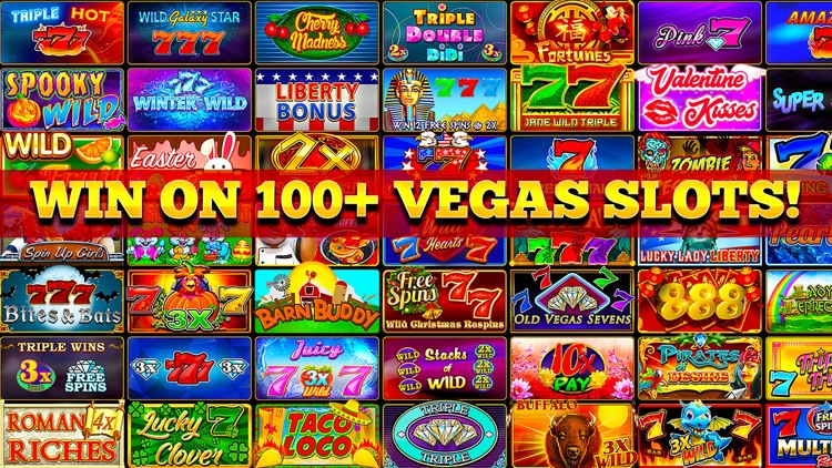 Slots of Luck Vegas Casino screenshot-0