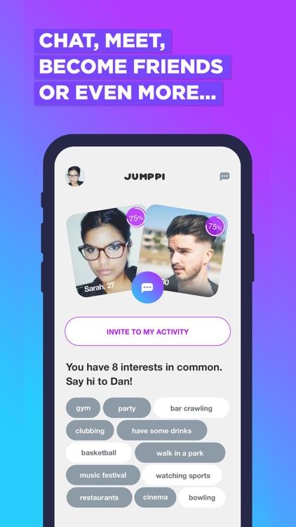 Jumppi:Join Fun Group Hangouts screenshot-3