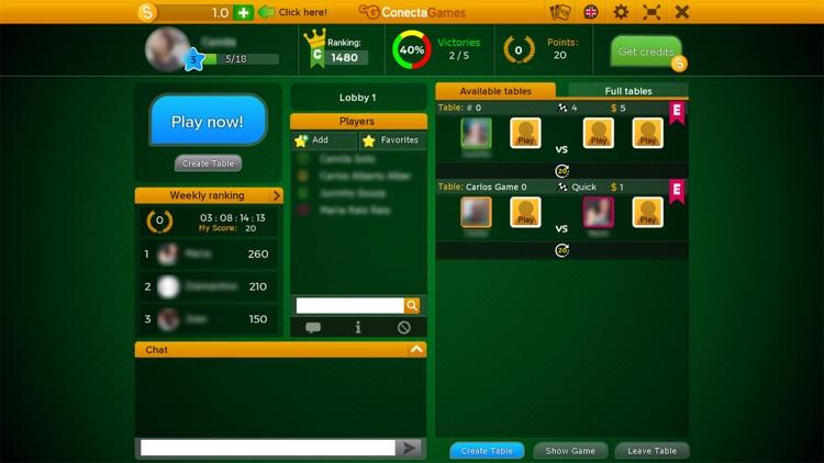 Sueca Multiplayer Game screenshot-7