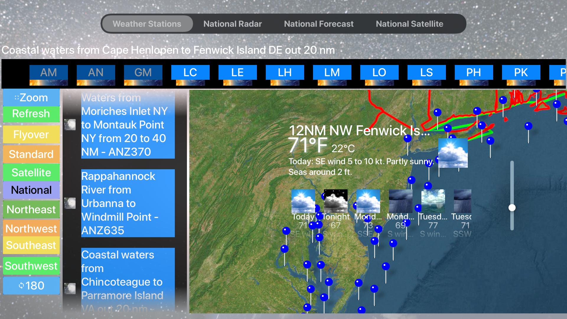Instant Marine Forecast Lite screenshot 20