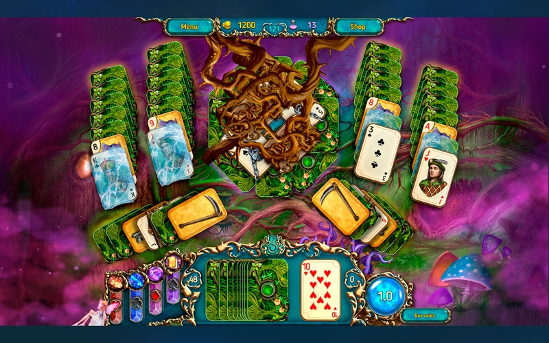 Dreamland Solitaire 3 CE screenshot 4