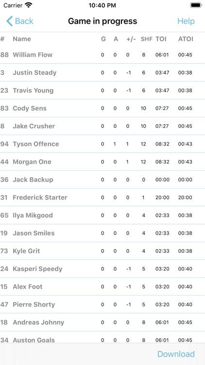 Hockey Time screenshot-6