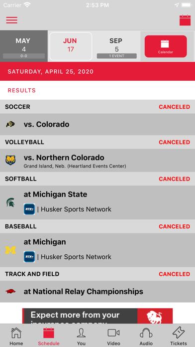cancel Official Nebraska Huskers subscription image 2