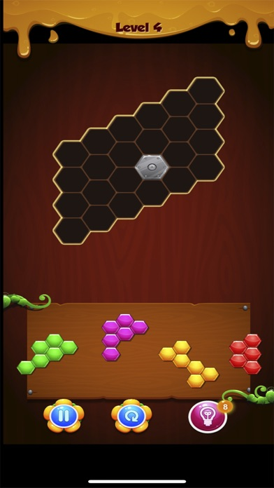 Hexa Block Puzzle Challenge Screenshot on iOS