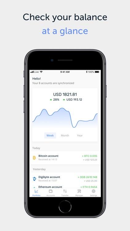 Ledger Live - crypto wallet